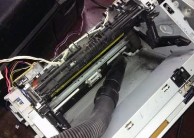 грязный принтер